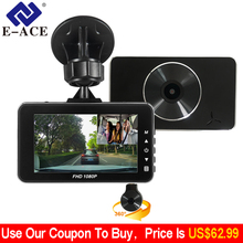E ACE Car DVR Novatek 96658 Dash Cam Full HD 1080P 3 0 Inch Recorder Dash