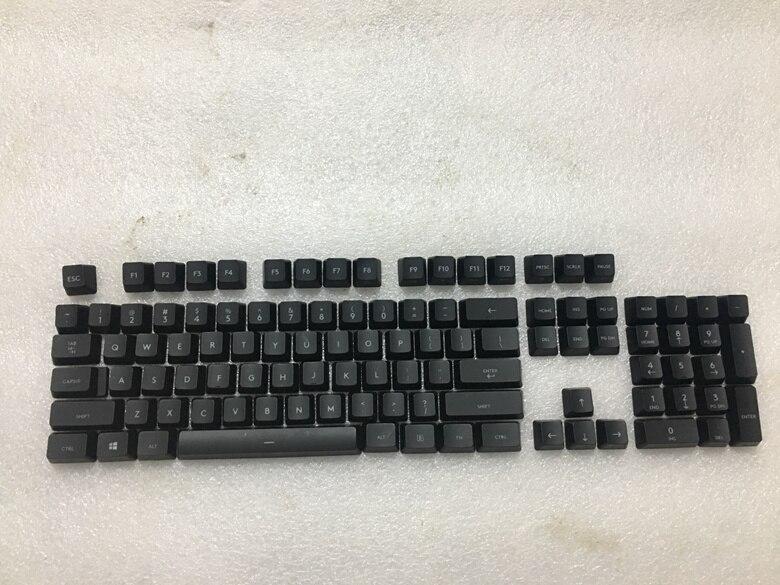 1 set original key caps for Logitech G413 mechanical keyboard genuine keycap клавиатура logitech игровая g413 mechanical gaming keyboard rus usb intnl red