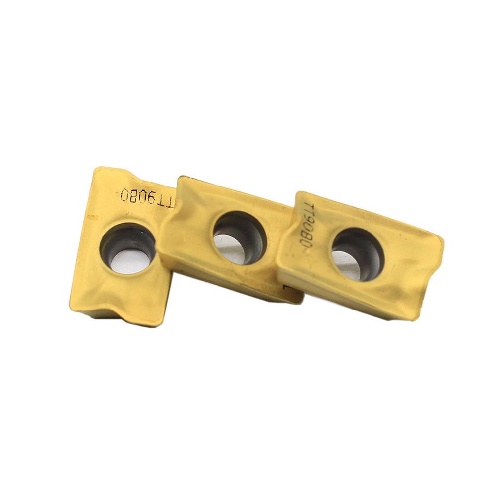 10 шт. APKT1705PER-EM TT9080, подлинный taegutec с ЧПУ вставка использовать большие средние маленькие токарные мини-инструменты поворотным держателем инструмента