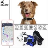 GPS intelligent traqueur collier de chien GSM WIFI LBS localisateur en temps réel APP dispositifs de suivi pour localisateur de traqueur d'animal familier Anti Geofence perdue