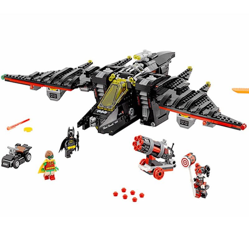 Legoing Batman Series The Batwing Legoing Super Heroes Robin Harley Quinn Building Blocks Toys For Children Compatible Legoings Products Hot Sale Blocks