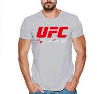 MMA mannen T shirts Ultimate Fighting Championship Ufc men t Shirt 2018 cotton t Shirt Euro Size S 2xl Tops Casuals t Shirt men