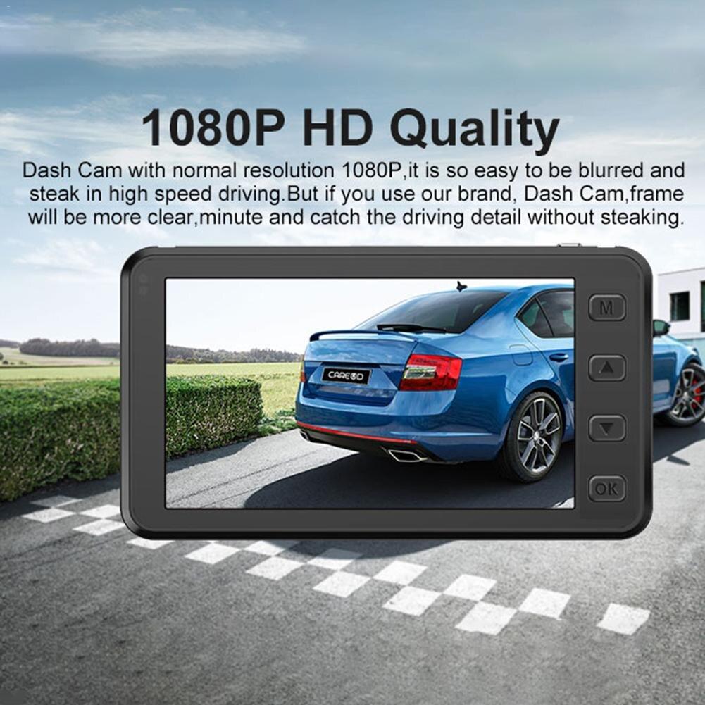 3 in 1 CAREUD 3.0-inch Mini 1080P HD Driving Recorder LCD Touch Screen HD Rear View Camera TPMS Car Tire Pressure Monitor портативный камкордер a240 hd 1080p 3 0 lcd 16 x