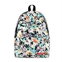 Купить с кэшбэком New Women's Backpack Junior High School Student Bag Printing Korean Back pack Outdoor Travel Bags