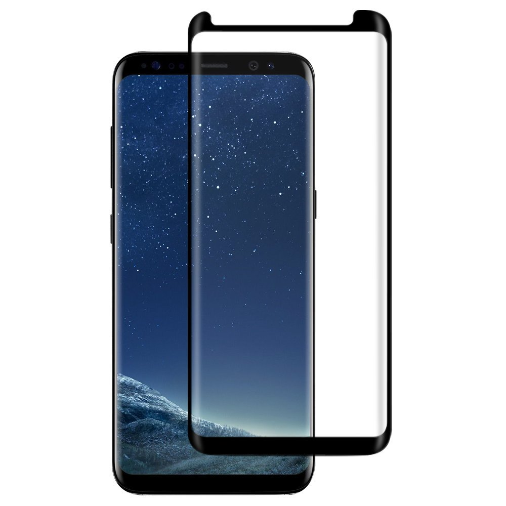 Kleine Version 3D Curved Edge gehärtetes Glas für Samsung Galaxy S8 Displayschutzfolie Hülle Friendly Glass für S8 Plus S8plus