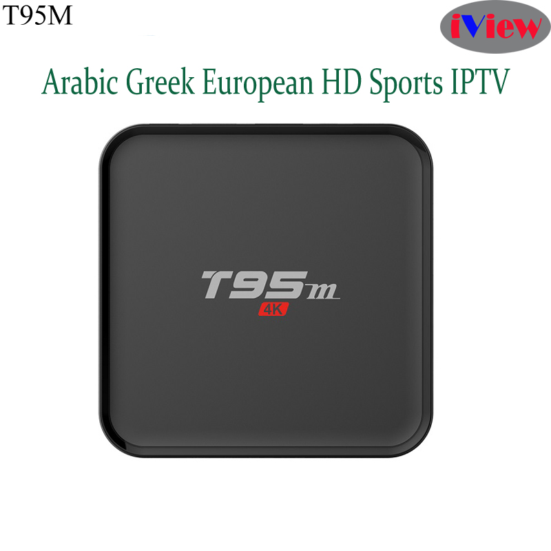 T95M Android Arabic IPTV Box 4k with Iview HD Albanian