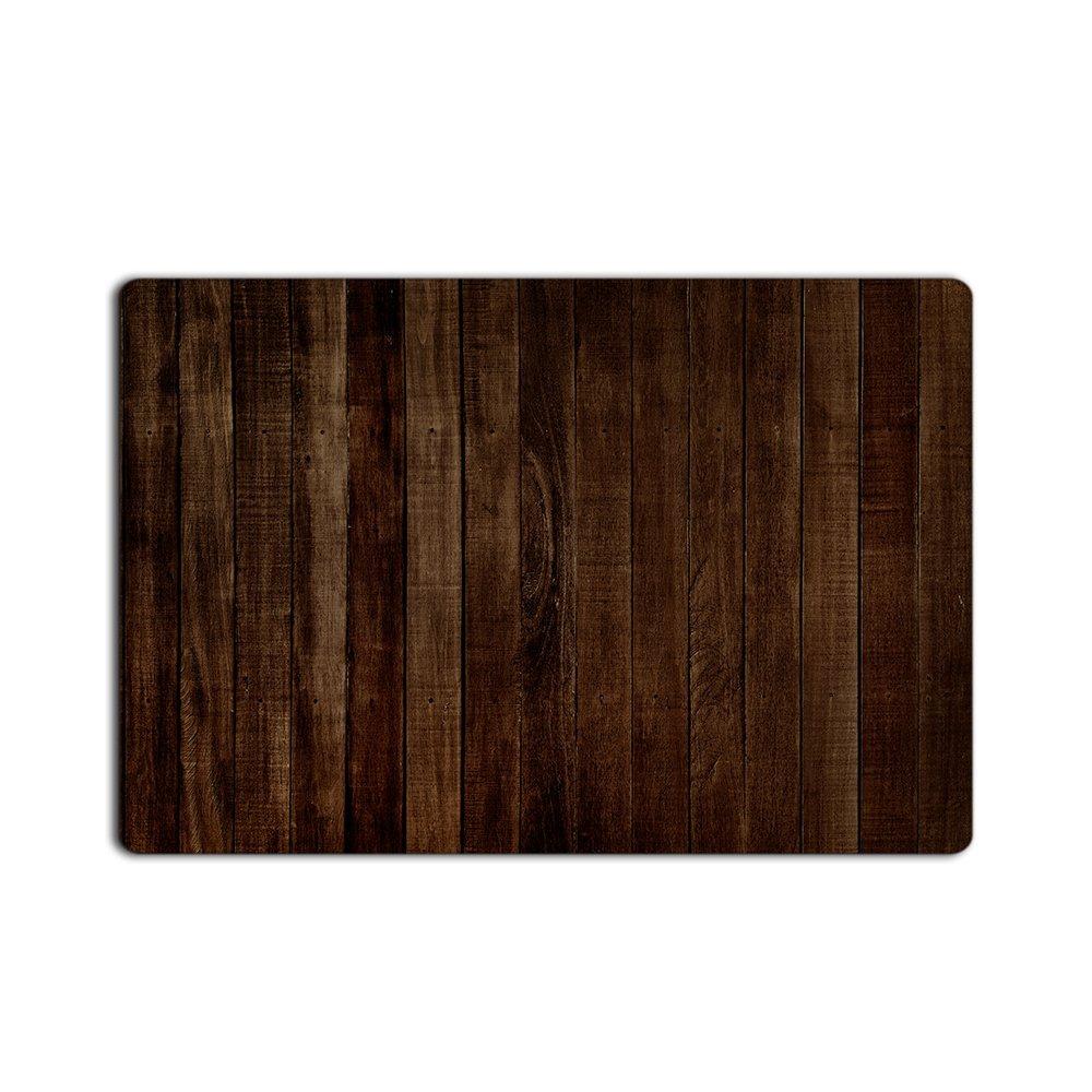 rstico antiguo granero de madera marrn oscuro felpudos bao interior decoracin de la cocina alfombra estera