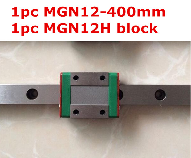 1pcs MGN12 - 400mm linear rail + 1pcs MGN12H long type carriage чехол autoprofi extra comfort black dark grey eco 1105 bk d gy m