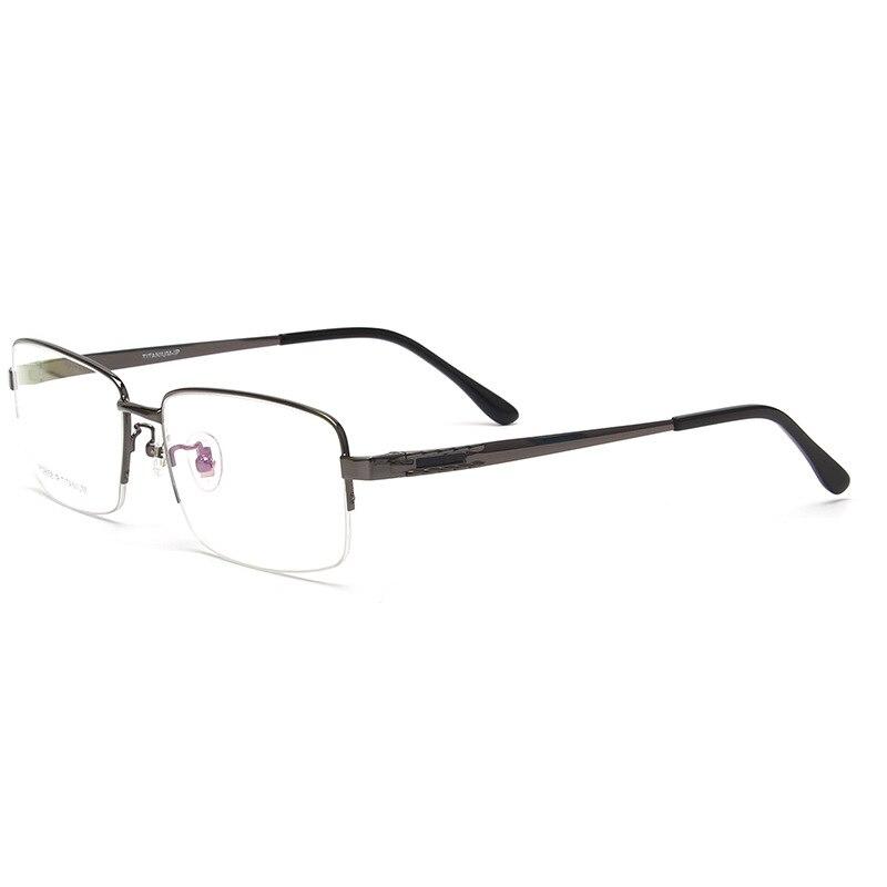 Viodream Pure Titanium Large Frame Ultra light Myopic Reading Glasses Optical Glasses Frame For Big Face