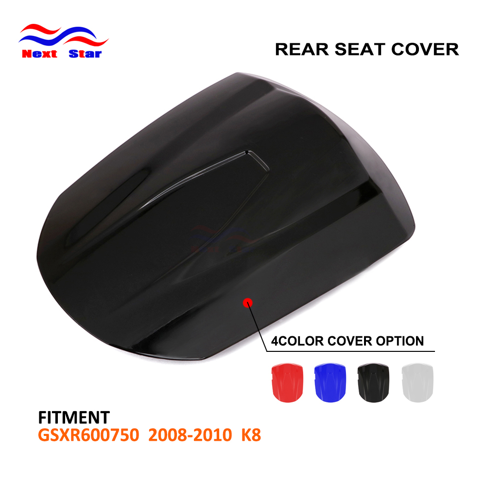 Motorcycle Multi Color ABS Plastic Rear Seat Cover Cowl For SUZUKI GSXR600 GSXR750 GSXR 600 <font><b>750</b></font> <font><b>GSX</b></font> 600R 750R K8 <font><b>2008</b></font> 2009 2010 image