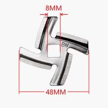 1 шт. отверстие 8 мм лезвие для мясорубки из нержавеющей стали запасные части для серии MGB