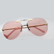 Rimless Sunglasses Women Pilot with Packing Box Oculos De Sol Feminino Vintage Fashion Eyewear 2017 New Sun Glasses