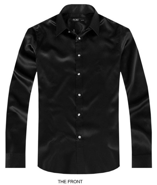 2017 Black Luxury the groom shirt male long sleeve wedding shirt ...