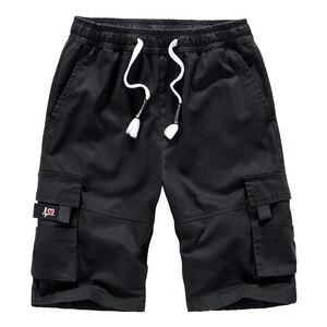Image 5 - Mens מכנסיים קצרים מטען קיץ Camo קצר ספורט כותנה מכנסי טרנינג גברים הסוואה בתוספת גודל 6XL 7XL 8XL צבאי Corto Pantalon Hombre