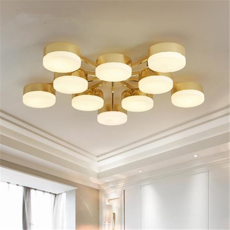 Online shop gold colour northern europe modern creative ceiling online shop gold colour northern europe modern creative ceiling light livingroom bedroom restaurant decoration lamp free shipping aliexpress mobile aloadofball Choice Image