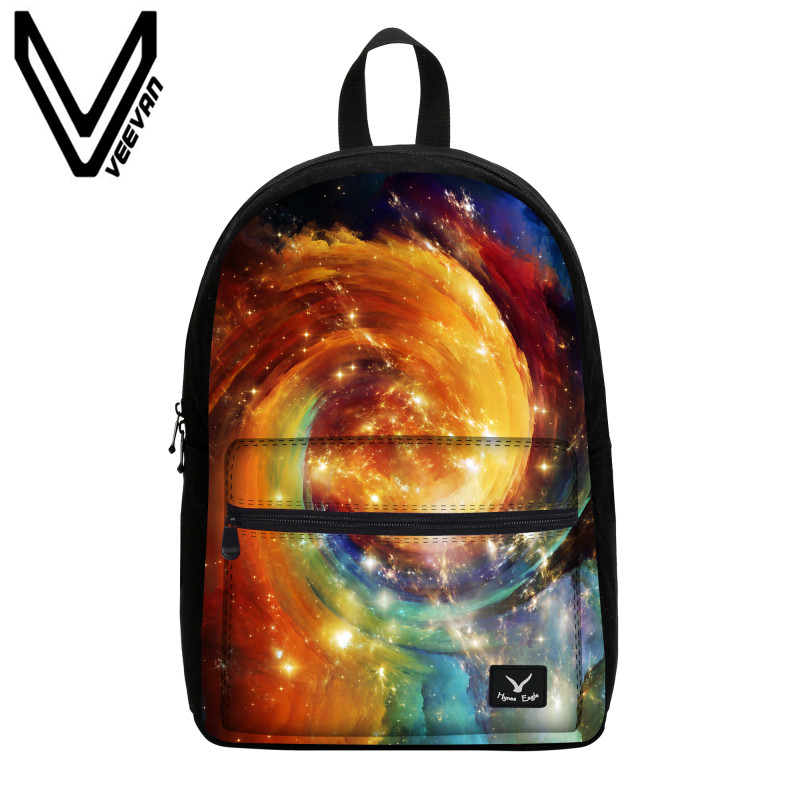 6b6892578ead VEEVANV Brand 2017 Galaxy Star Universe Space Book Backpack Multicolor School  Bags for Girls Mochila Feminina Teenage Campus Bag Tags