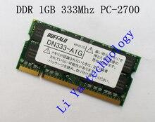BUFFALO 1GB 2GB PC2700 DDR333 200PIN SODIMM ddr 333Mhz Laptop MEMORY 200-pin SO-DIMM RAM DDR Laptop Notebook MEMORY