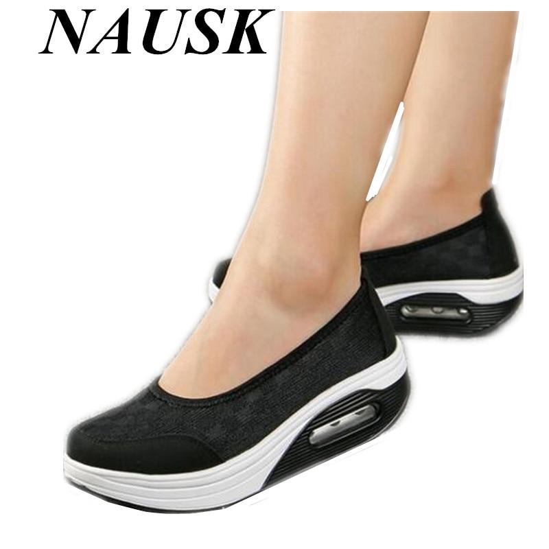 2018 N Для женщин обувь из натуральной кожи женские толстые туфли на плоской подошве Удобные повседневные на плоской подошве и низком каблуке Лоферы обувь для медсестры Для женщин mujer Размер 42