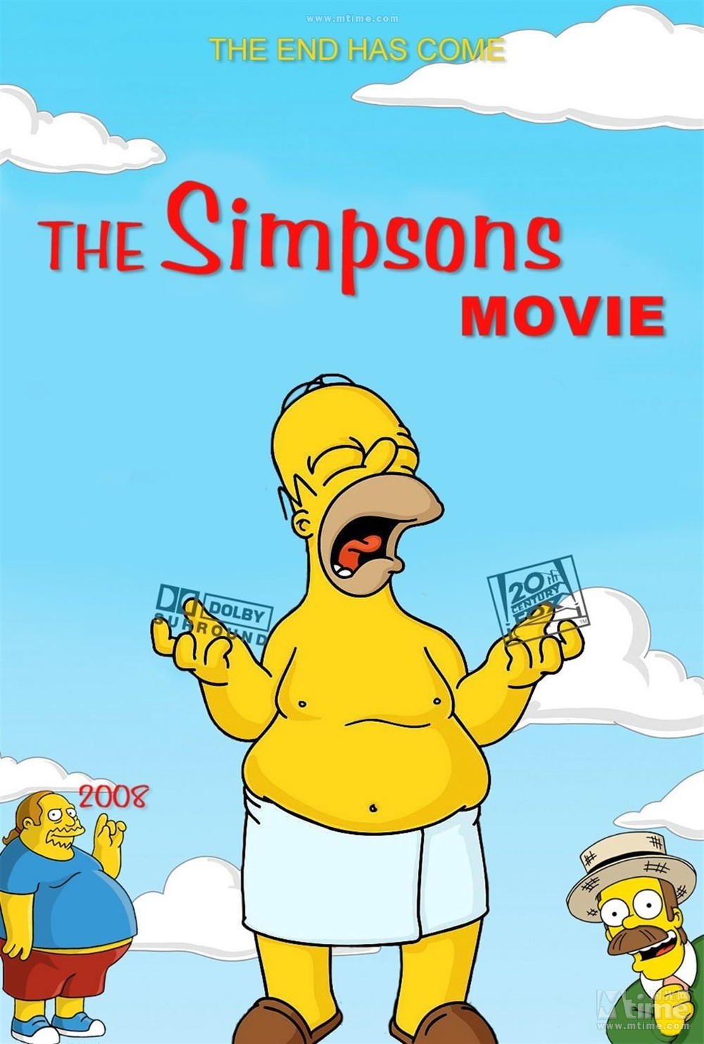 The Simpsons Movie Posters Hd Print Size 50x70cm Wall Sticker Free Shipping 7 Sticker Generator Sticker Butterflystickers Space Aliexpress
