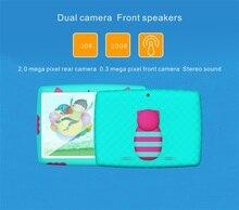 Дети tablet 5.1 Android Новый Дизайн kids10 Дюймовый wifi Таблетки пк wi-fi Quad core Двойная Камера 16 ГБ Android5.1 9 10 дюймов планшет