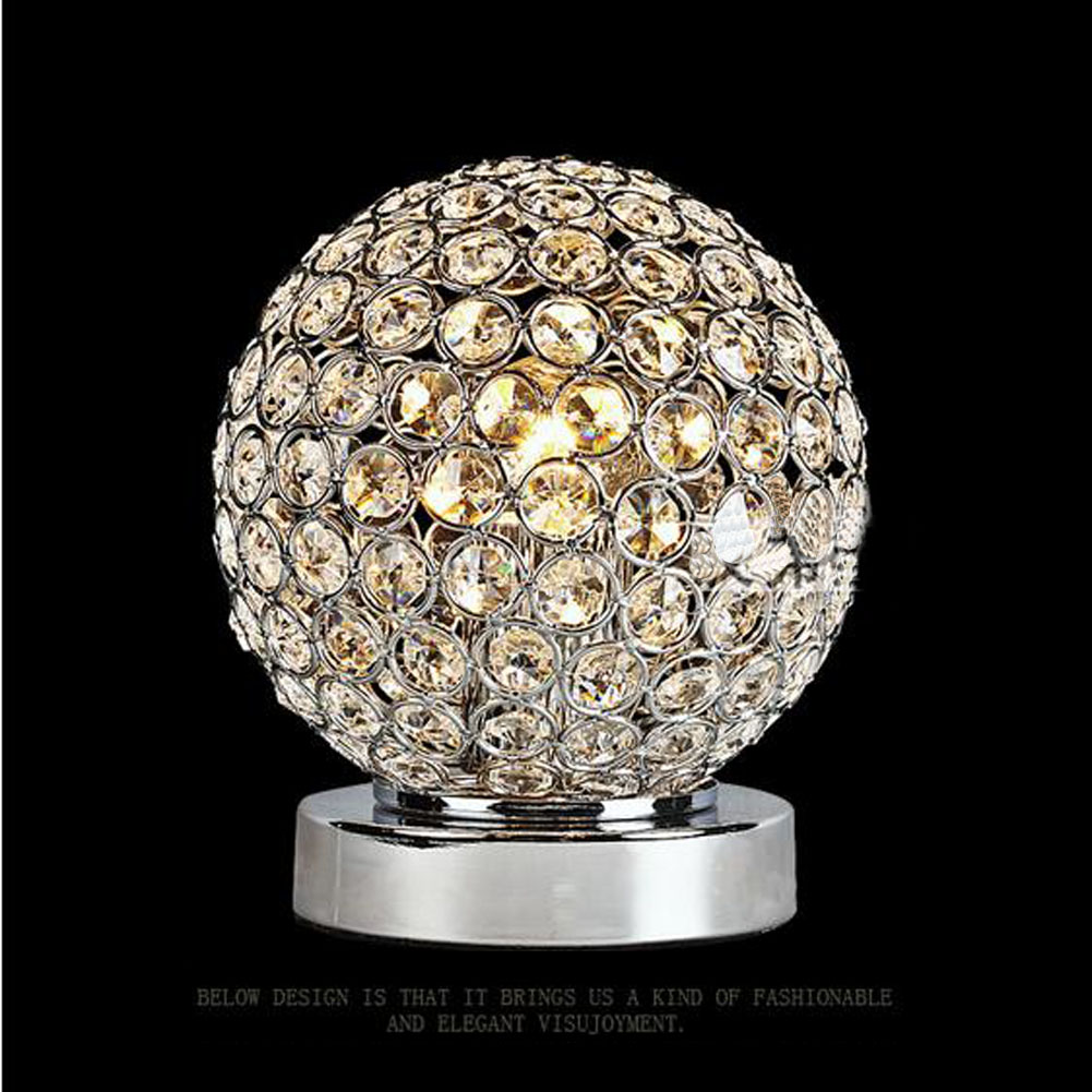 Online shop modern table lamp k9 crystal ball lampshade d150mm online shop modern table lamp k9 crystal ball lampshade d150mm novetly art luminaire decoration luster home bedroom bedside desk light ce aliexpress geotapseo Choice Image