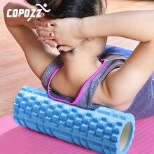 COPOZZ колонка йога блок фитнес оборудование Пилатес Пена ролик фитнес тренажерный зал упражнения массажный ролик для мышц Йога Кирпич Спорт Тренажерный зал