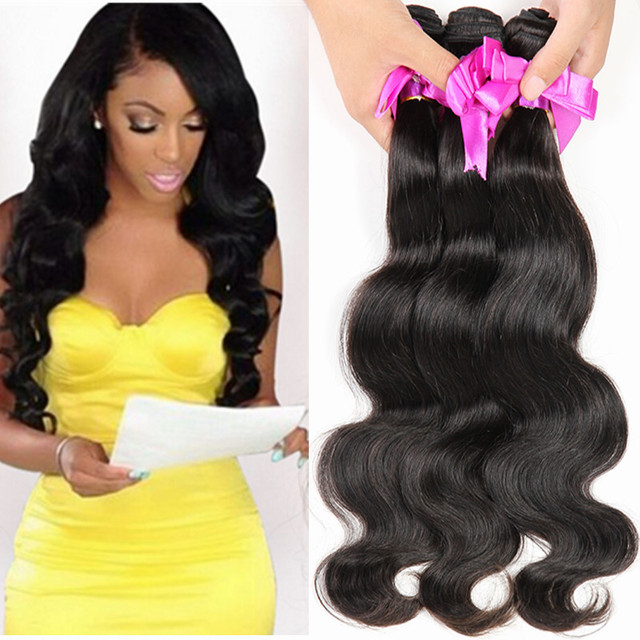 Cheap 7a Unprocessed Virgin Human Hair Weave Bundles 4pc Mongolian