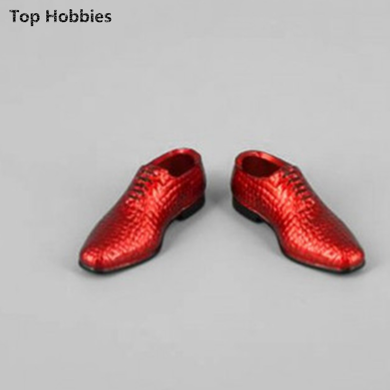 ZYTOYS ZY16 1/6-22 pattern of mens leather shoes The trend of mens shoes imitation alligator spot