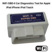WIFI ELM 327 OBDII/OBD2 Auto Scanner Tool Support Android & IOS System ELM327 Wifi Support All OBD II Protocols