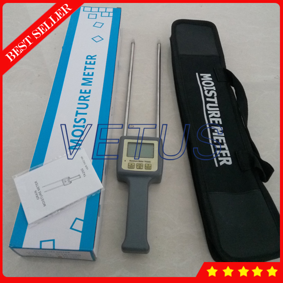 25 Kinds Long Probe TK25G Grain Moisture Meter for Barley Corn Rice Wheat moisture tester digital multi grain moisture meter tester rice wheat rye peas corn oat 6 30% tk25g
