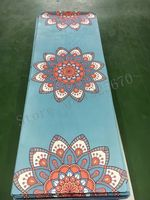 Lotus coulorful good quality suede skin Natural Rubber eco-friendly slip-resistant Hot Yoga best yoga mat Fitness rubber mat