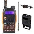 Baofeng GT-3 Mark II VHF/UHF 136-174/400-520 МГц Dual Band FM Двухстороннее Любительское Радио Walkie Talkie + E + Автомобильное Зарядное Устройство Кабель + Мягкий Чехол gt3
