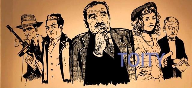 Gangsta Crowd Sticker Wall Room Decor Art Gangster Vinyl Decal Mural ...