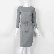 Women Sweaters Dress 2018 Knitting Dress Autumn Winter Long Sleeve Warm Bodycon Midi Dress Knitted Dresses Plus Size GV006