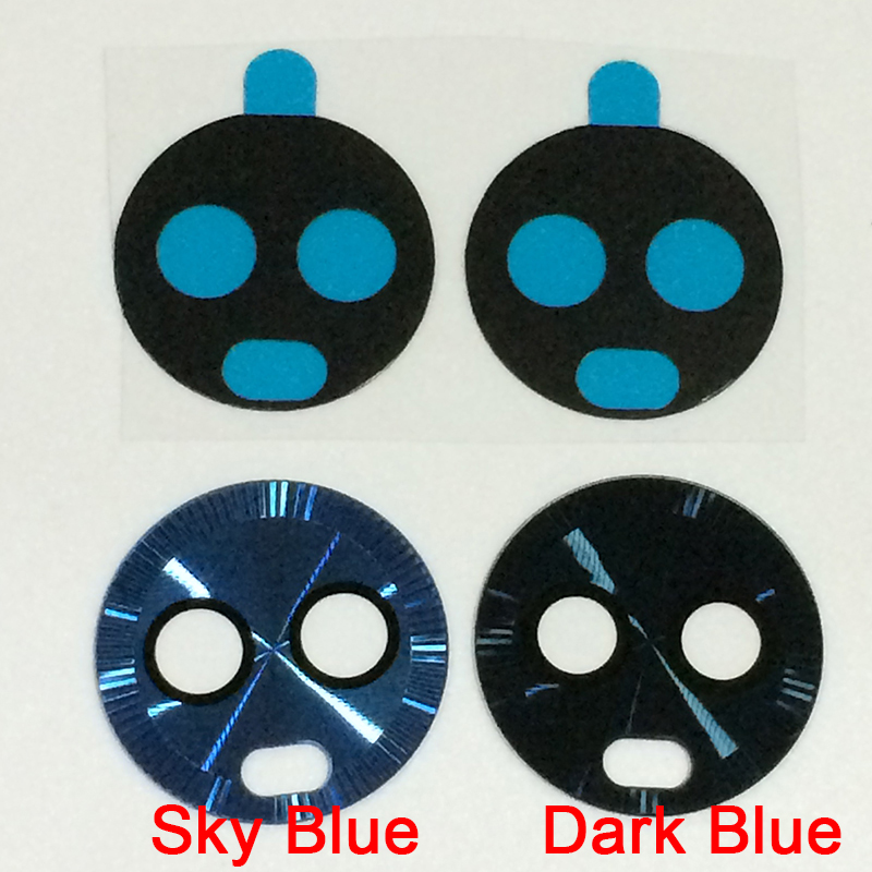 100Pcs/lot Original New Back Camera Lens Sky Blue Rear Cam Glass Cover Ring with Sticker Tape For Motorola Moto G6 Plus Parts-in Mobile Phone Housings & Frames from Cellphones & Telecommunications    1