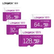 Londisk флэш карта памяти с большим объемом, высокоскоростная микро SD карта 32Гб класс 10 16Гб 32Гб 64Гб 128Гб для мобильного телефона, планшета