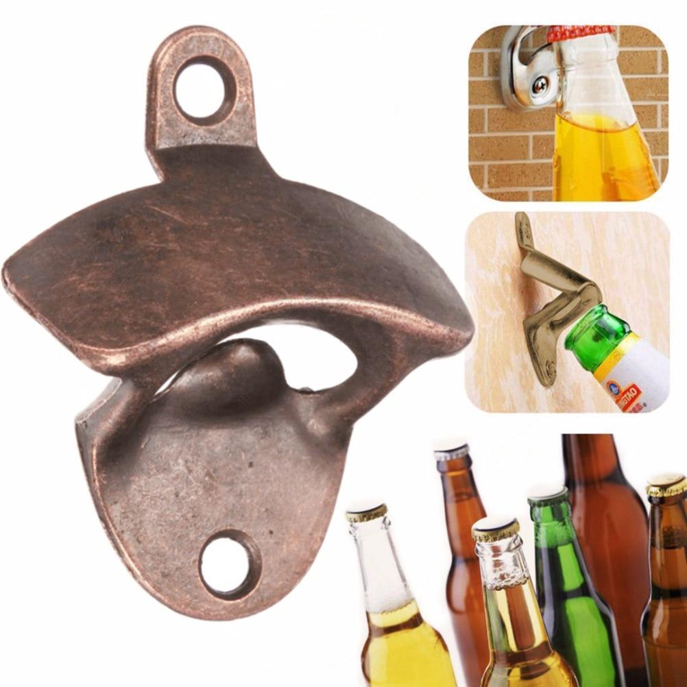 Muur Bier Opener Metalen Retro wandmontage Flesopener Muuropener - Keuken, eetkamer en bar