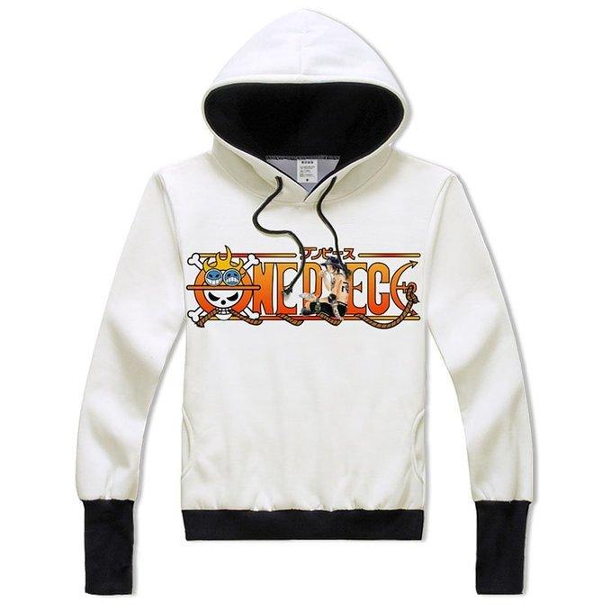 One Piece Printing Anime Sweatshirt font b Hoodie b font Adult