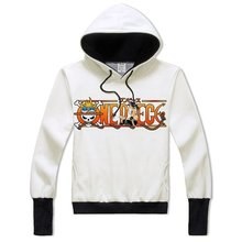 One Piece Printing Anime Sweatshirt Hoodie Adult