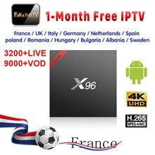 Fransa İtalya IPTV X96W 1 ay Ücretsiz IP TV Almanya Kanada IPTV Abonelik TV Kutusu 4 k Çıkış Yu türkiye IPTV İNGILTERE İtalyan Fransa Full HD