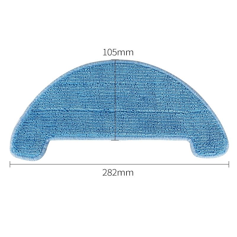10 teile//los Staubsauger Teile Mopp Tuch Für Chuwi ilife A4 Robotic Reiniger