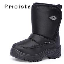 Plus Size 45-46 Men Ankle Boots Winter Wedges Zip Nylon Waterproof Snow For Boys PVC Platform Shoes Male Casual