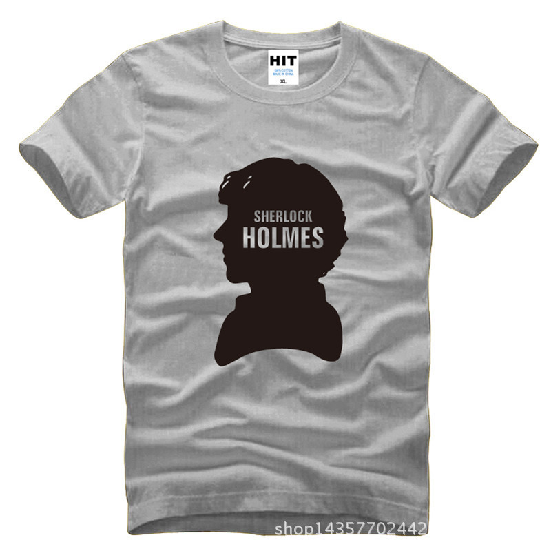 Sherlock Holmes Watson afeitado Avatar Locke Impreso Hombres Hombres - Ropa de hombre