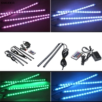 The New LED Car Interior Lights With Voice Ambience Atmosphere Light May22#2 5up