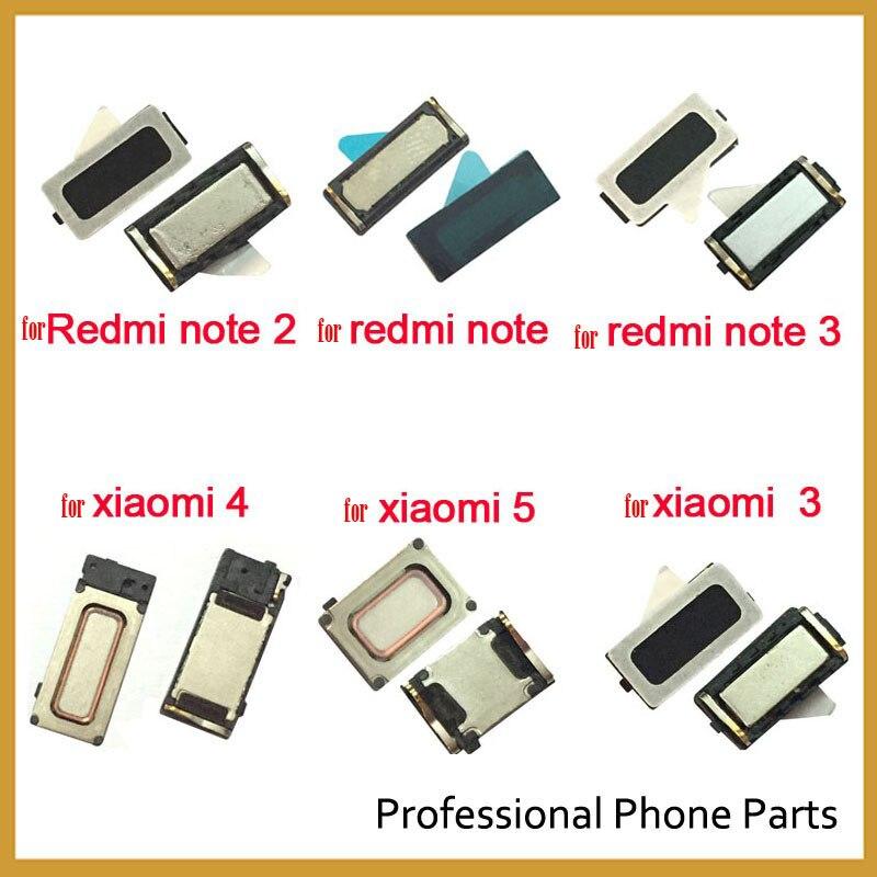 2 Pcs /Lot , Earphone Earpiece Top Ear Speaker For Xiaomi Redmi 7 7A 4 4A 4X 6 6AS2 5 5A Plus Note 7 6 Pro Repair Parts