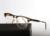 Thom Browne Nueva York Marca tb711 acetato cuadrados de metal medio marco Gafas de Lectura Óptica hombres caja de Los vidrios Del Ojo