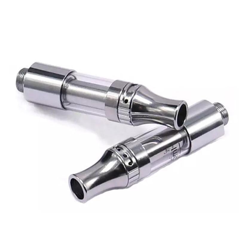 30pcs Lot Stainless Oil Electric Vape Cartridge Hole 1 6mm Disposable Vape Pens A9 V9 Atomizer