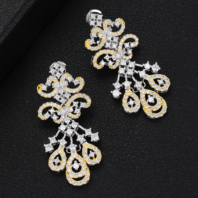 SisCathy 2019 Famous Super Brand 4Pcs Necklace/Bracelet/Earrings/Ring Jewelry Sets For Women Wedding African Accessories