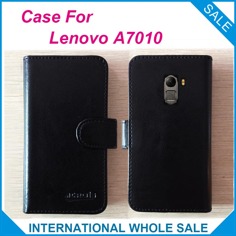 competitive price fd6df 5ad5a US $3.88 15% OFF|Hot! Lenovo A7010 Case 6 Colors High Quality Leather  Exclusive Flip Case For Lenovo A7010 Protective Phone Cover Tracking on ...