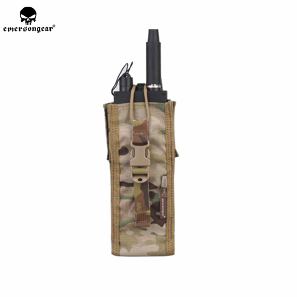 emersongear Emerson Radio Pouch Molle Walkie Talkie PRC148/152 Holder Case tactical